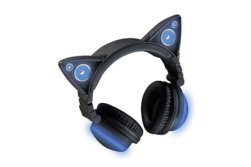 Wireless Color Changing Cat Headphones