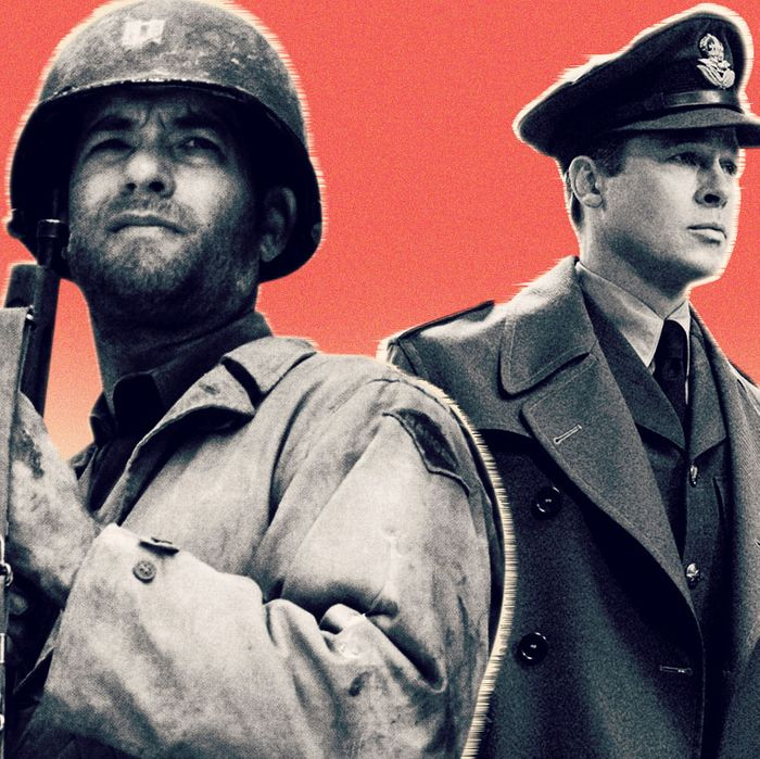 Who Did More To Win World War Ii Brad Pitt Or Tom Hanks