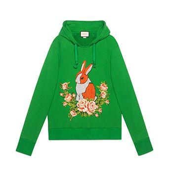 Rabbit Jersey Oversize Sweatshirt
