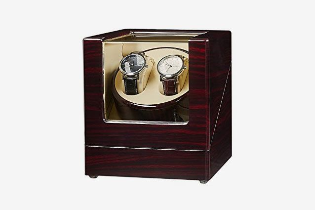 JQueen Double Watch Winder with Quiet Japanese Mabuchi Motor c5c8b12aa2