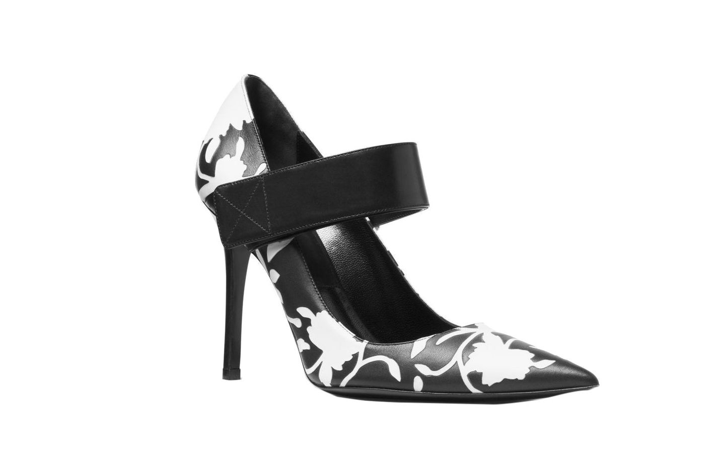 Emile Floral Leather Pump
