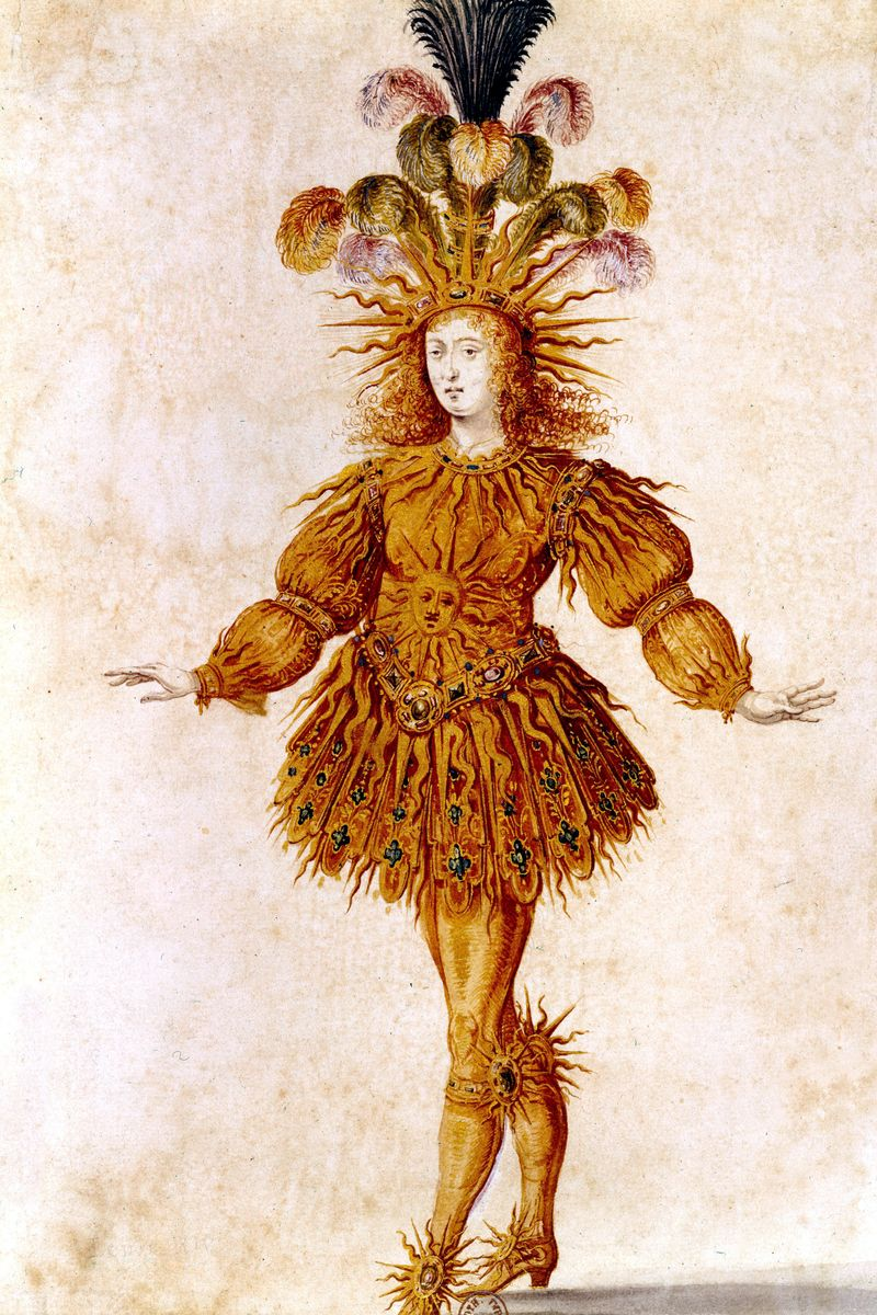 King Louis XIV in the Costume of the Sun King in the Ballet La Nuit - 50 Most Legendary Hats ...