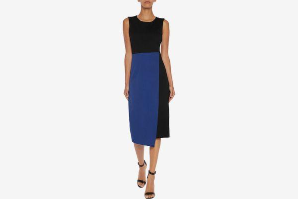 Iris & Ink Kendra Wrap-Effect Jersey Midi Dress