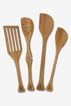 Lefty's Left-Handed Bamboo Kitchen Utensil Set