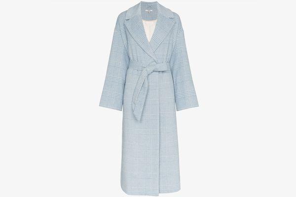 Ganni Woodside Belted Coat