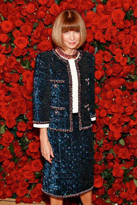 The Anna Wintour Look Book The Cut