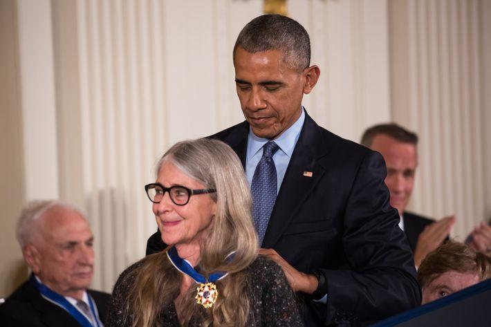 Obama Awards Coder Margaret Hamilton Medal of Freedom
