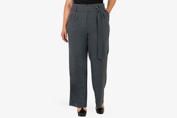 Standards and Practices Franchesca High Rise Paperbag Trousers