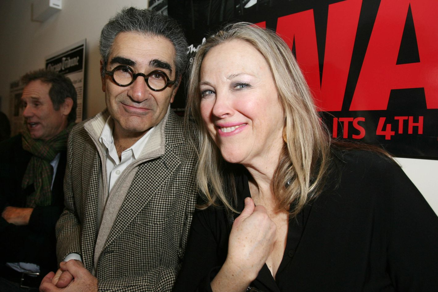 Eugene Levy And Catherine O Hara Together Again