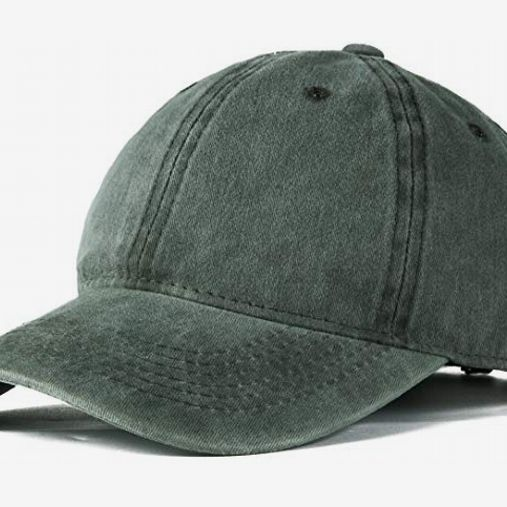 Edoneery Washed Twill Low-Profile Baseball Cap Hat