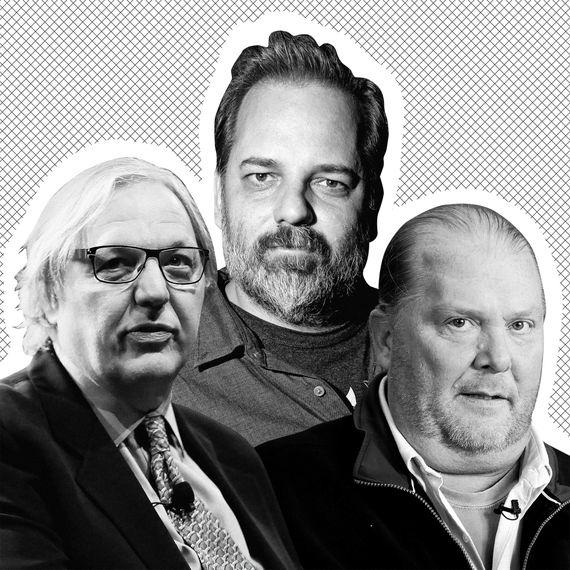 John Hockenberry, Dan Harmon, Mario Batali.