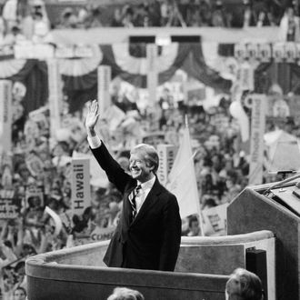 Jimmy Carter at Democratic National Convention
