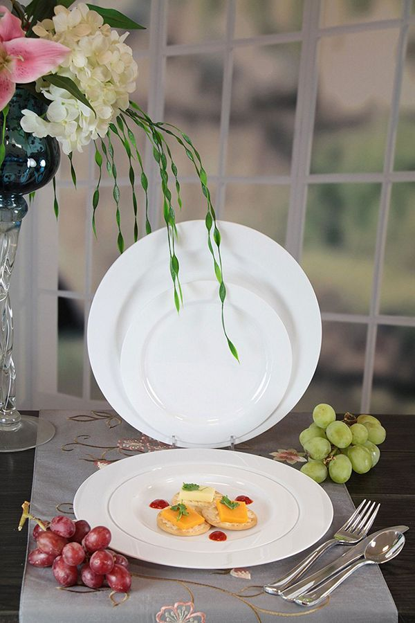 Premium Quality Heavyweight Plastic Plates