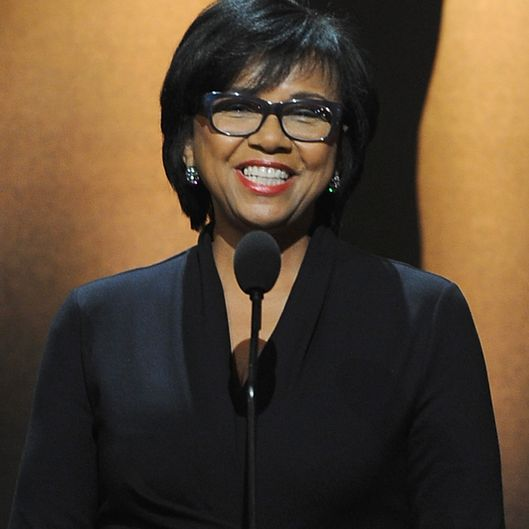 BEVERLY HILLS, CA - JANUARY 16:  Academy President Cheryl Boone Isaacs announces the nominees at the 86th Academy Awards Nominations Announcement at the AMPAS Samuel Goldwyn Theater on January 16, 2014 in Beverly Hills, California.  (Photo by Kevin Winter/Getty Images)