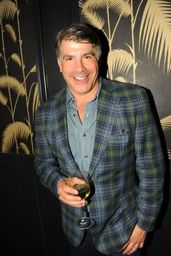 Bryan Batt==Girard-Perregaux and The Cinema Society with DeLe?n host the after party for Sony Pictures Classics' I'M SO EXCITED==No. 8, NYC==June 6, 2013==?Patrick McMullan.