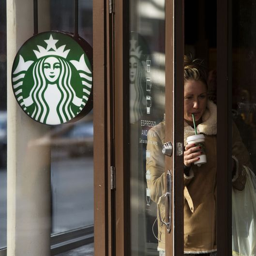Inside A Starbucks Corp. Location Ahead Of Earnings Figures