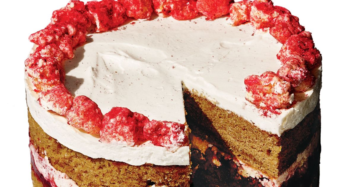 Christina Tosi Breaks Down Milk Bar's New Holiday Cranberry-Gingerbread Cake