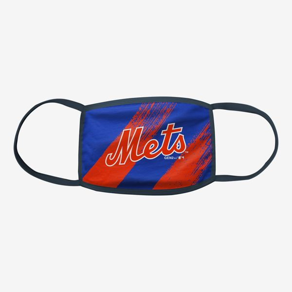 New York Mets Youth Face Shield 3-Pack