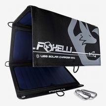 Foxelli 21-Watt Triple USB Solar Charger