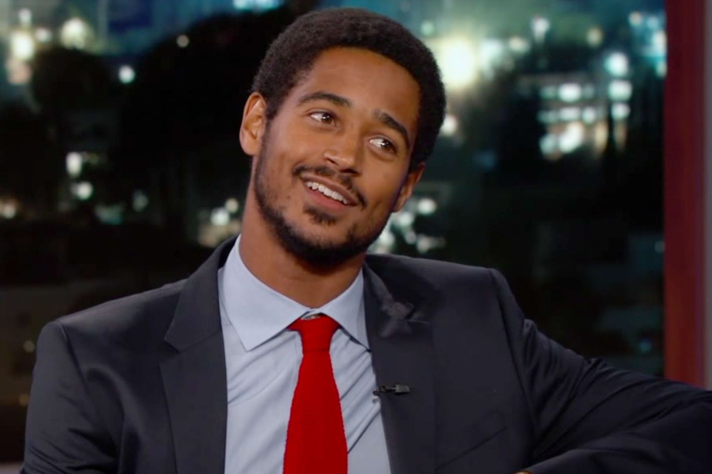 Alfred Enoch with Single