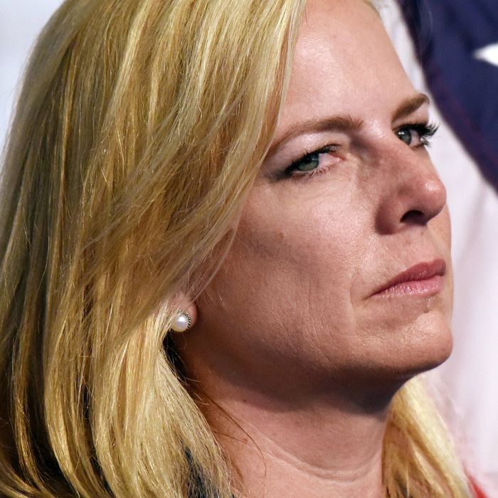 Kirstjen Nielsen, secretary of homeland security.