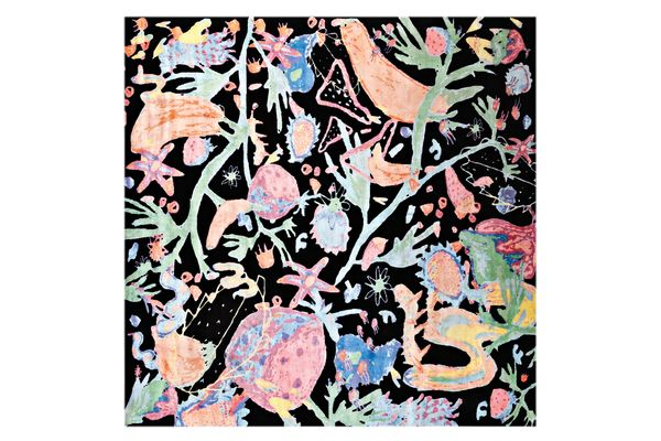 """""""Manic Botanic"""" carpet by Katie Stout in collaboration with Amini"""