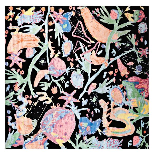 """Manic Botanic"" carpet by Katie Stout in collaboration with Amini"