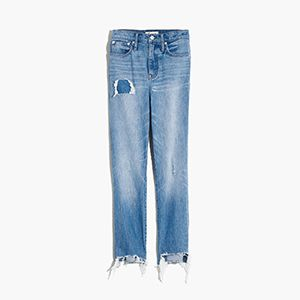 Corrie Wash Classic Straight Jeans