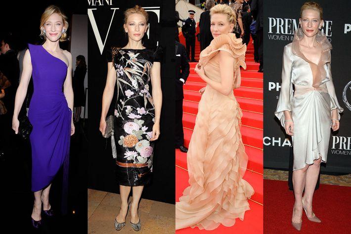 Cate Blanchett's Armani wardrobe.
