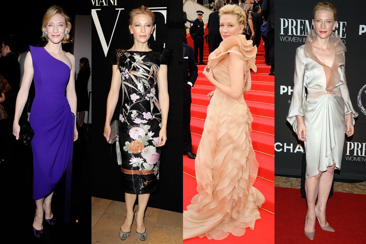 Cate Blanchett Finally Gets an Armani Contract