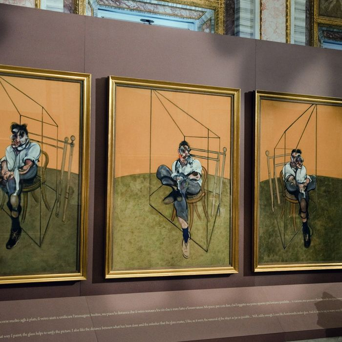 A Journalist looks at Francis Bacon's paintings