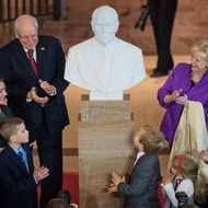 Cheney Bust Unveiling