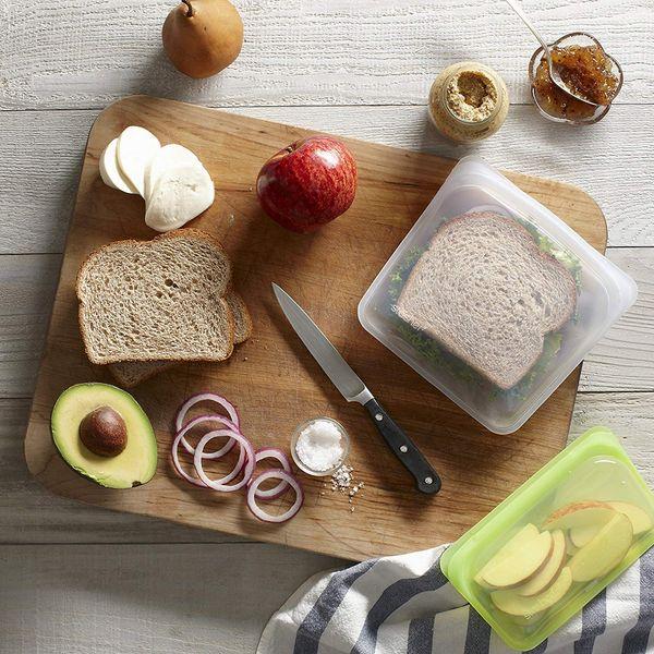 Stasher Reusable Silicone 7-Inch Food Bag