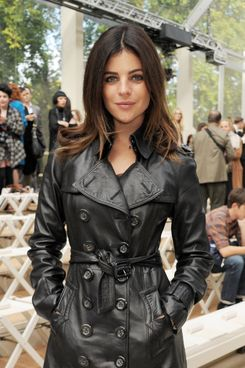 LONDON, ENGLAND - SEPTEMBER 19:  Julia Restoin-Roitfeld attends at the Burberry Spring Summer 2012 Womenswear Show at Kensington Gardens on September 19, 2011 in London, England.  (Photo by Dave M. Benett/Getty Images)