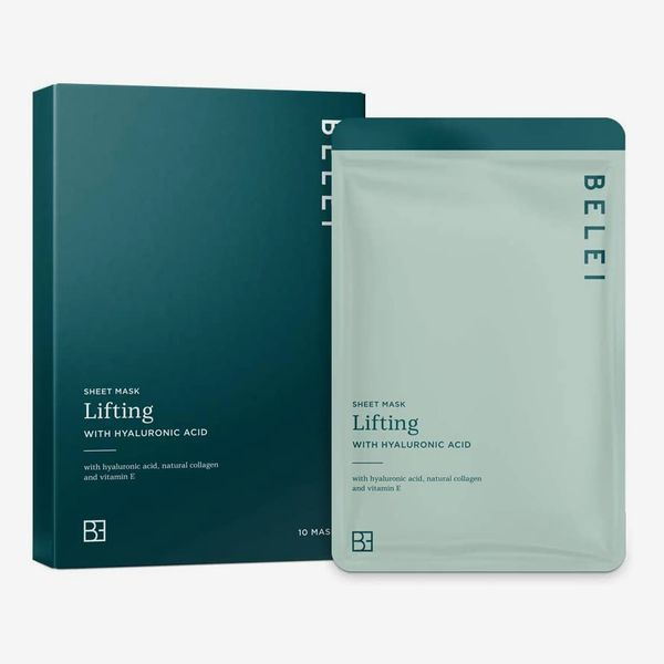 Belei Lifting Sheet Mask with Hyaluronic Acid (Pack of 10)
