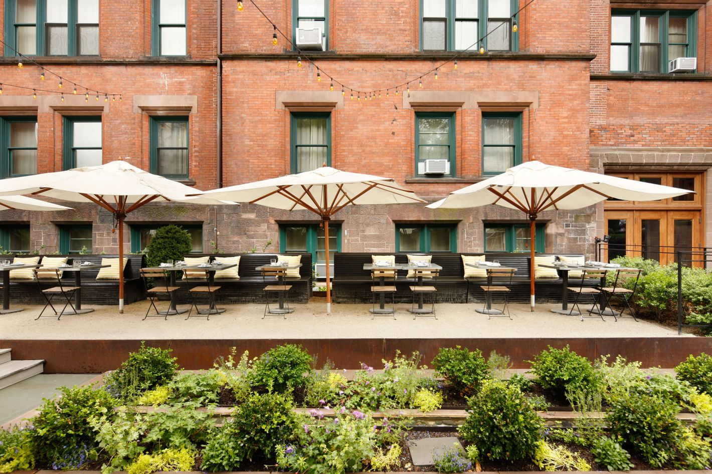 Alta Linea At The High Line Hotel Is Literally Built For Outdoor Dining