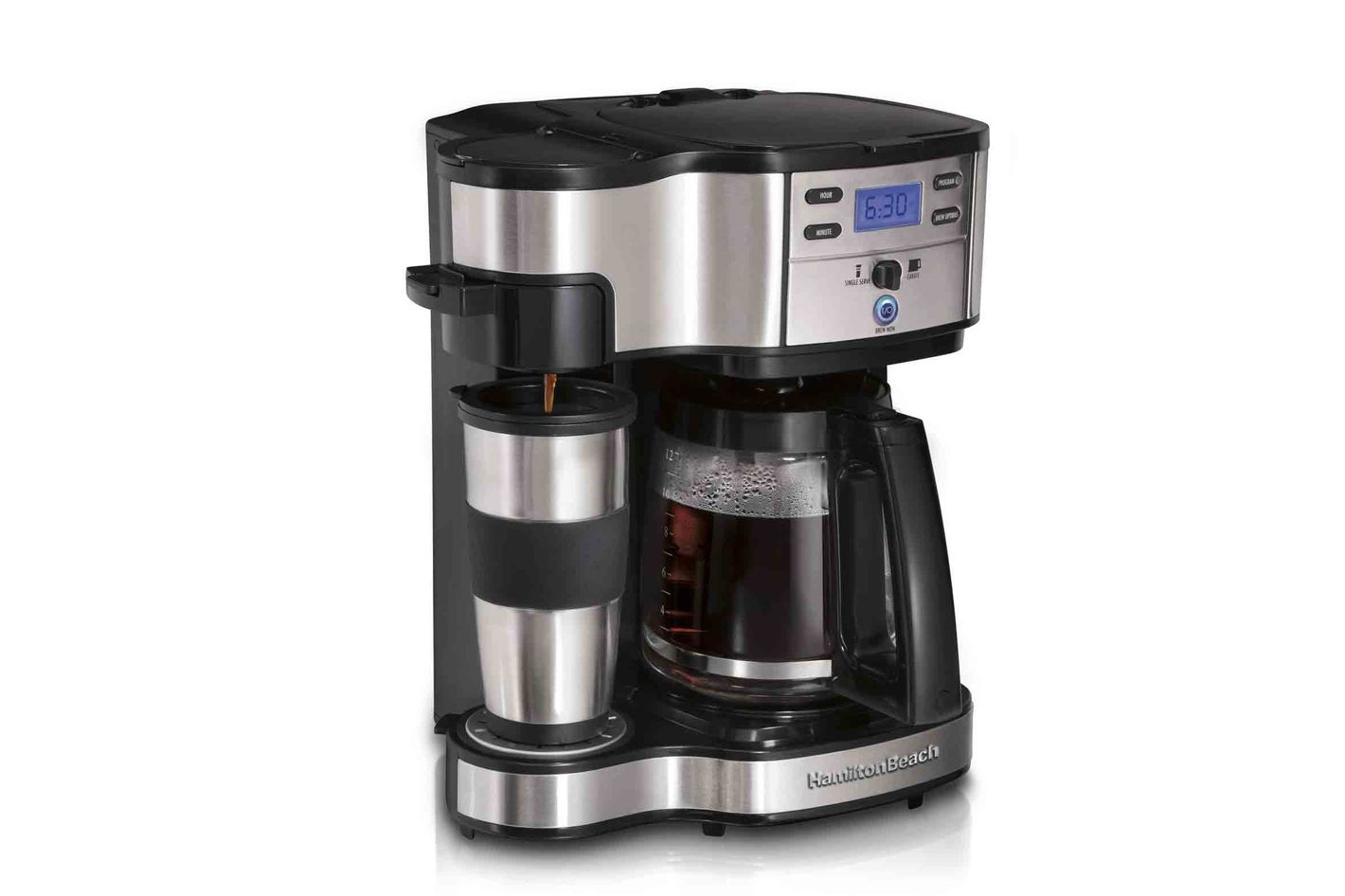 Hamilton Beach 49980a Single Serve Coffee Brewer And Full Pot Maker