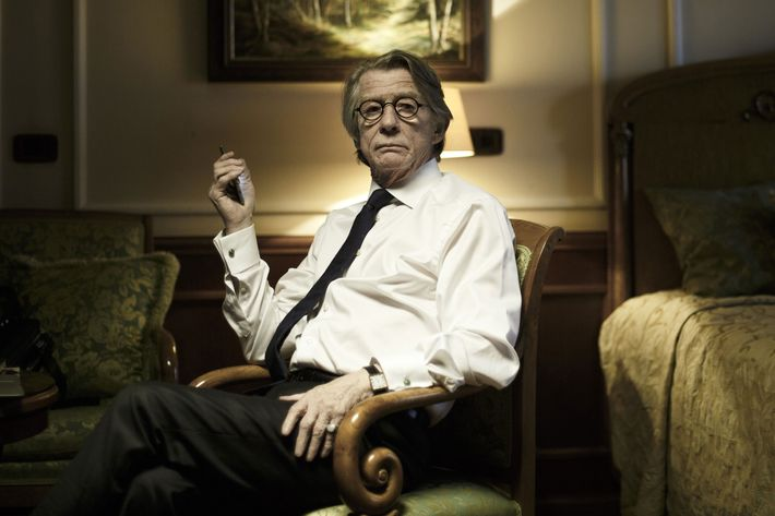 John Hurt as Tom - The Last Panthers _ Season 1, Episode 3 - Photo Credit: Stephane Remael/Sundance