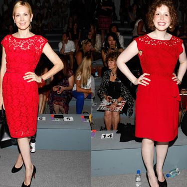 Kelly Rutherford and Vanessa Bayer.