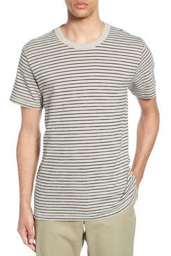 Rag & Bone Railroad Slim Fit Stripe T-Shirt