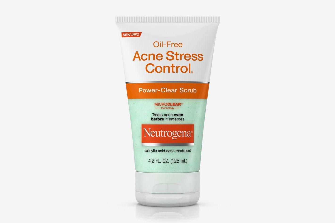 Neutrogena Oil-Free Acne Stress Control Power-Clear Scrub