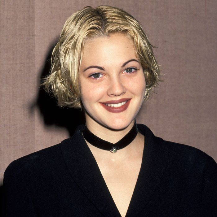 Teen Drew Barrymore.