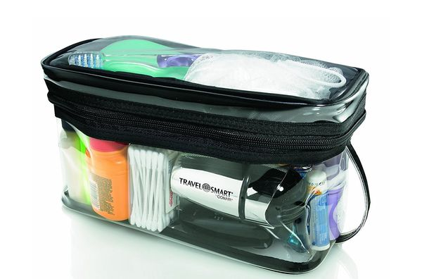 Travel Smart by Conair Transparent Sundry Kit