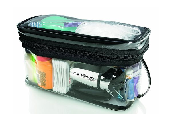 Travel Smart by Conair Transparent Sundry Kit