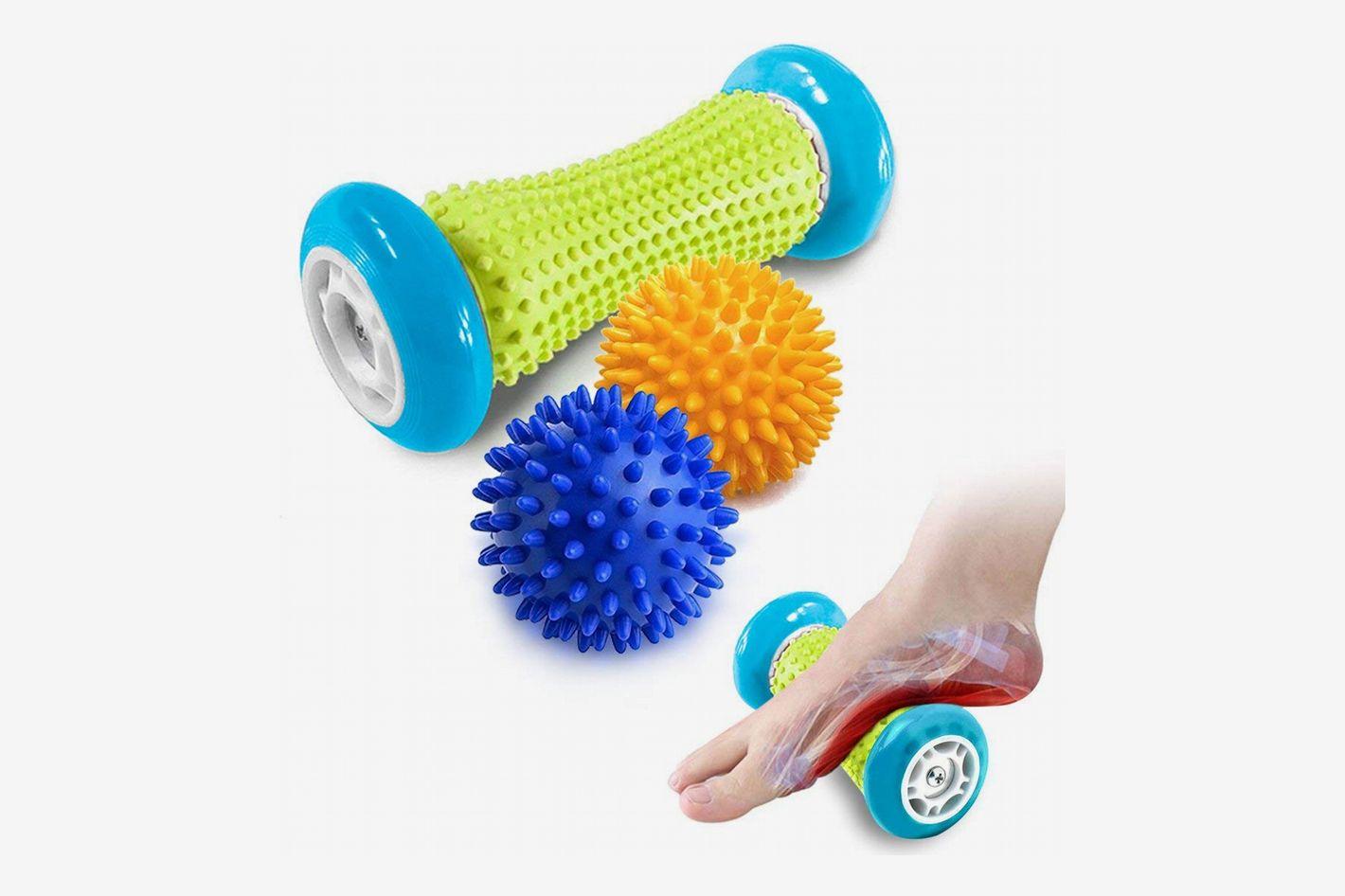 Pasnity Spiky Foot Massage Roller Set
