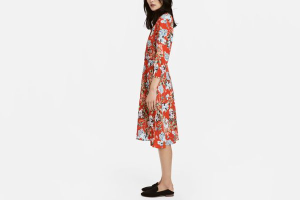 H&M Crêped Dress