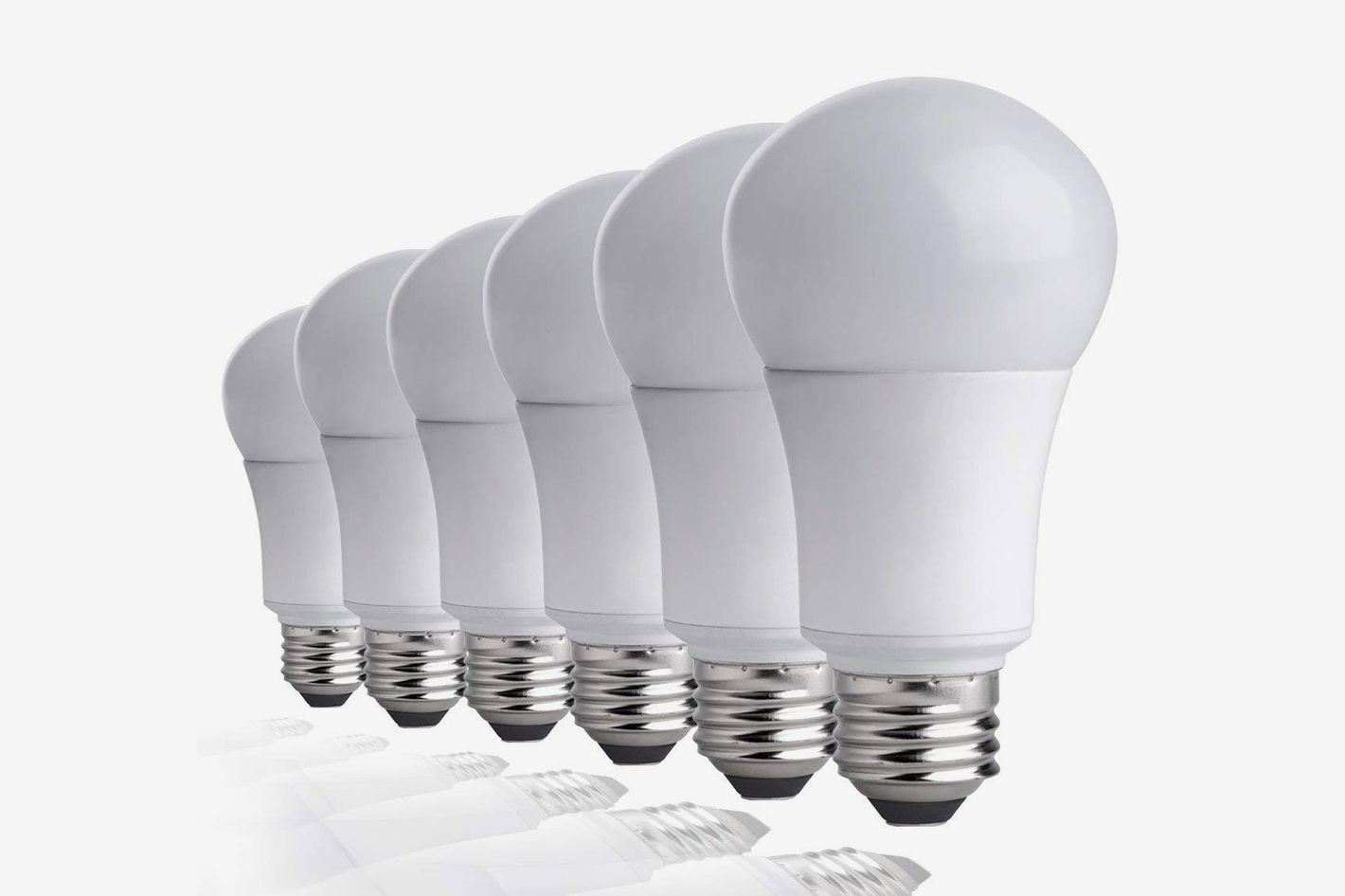 TCP 60W Equivalent LED Light Bulbs Soft White 2700K (6 Pack)