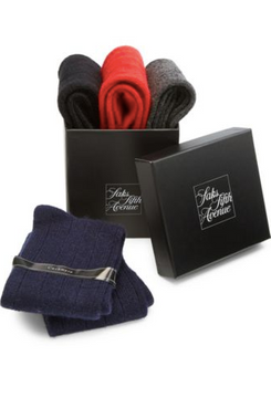 Saks Fifth Avenue COLLECTION Four-Piece Cashmere-Blend Sock Set