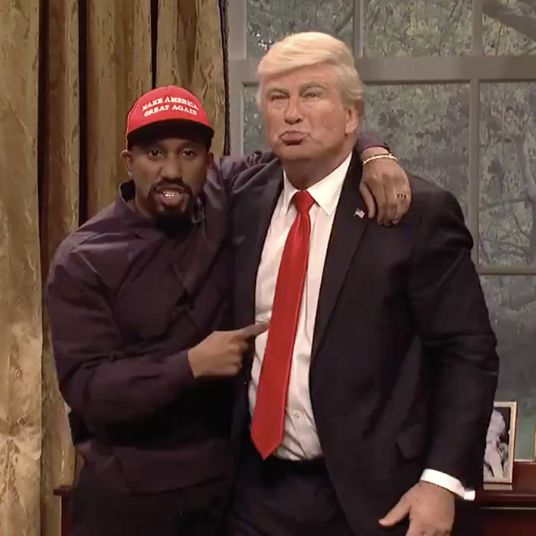Image result for saturday night live trump kanye