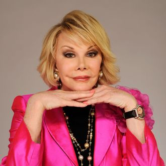 NEW YORK - APRIL 27: Joan Rivers from the film